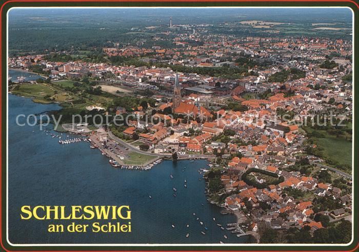 Schleswig Holstein Fliegeraufnahme Kat. Schleswig
