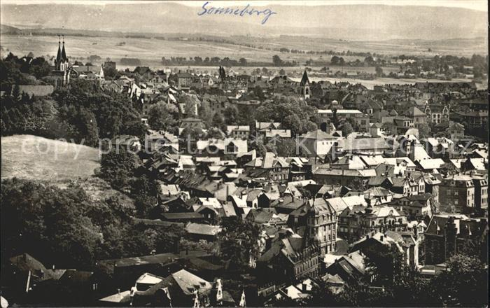 Sonneberg Thueringen  Kat. Sonneberg