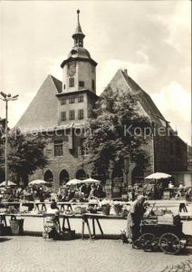 Jena Wochenmarkt Ratszeise Kat. Jena
