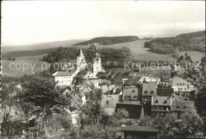 Schwarzenberg Erzgebirge Teilansicht Schloss Kat. Schwarzenberg
