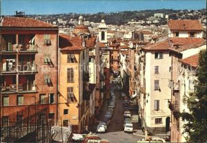 Nice Alpes Maritimes Rue Rossetti Cathedrale Sainte Reparate  Kat. Nice