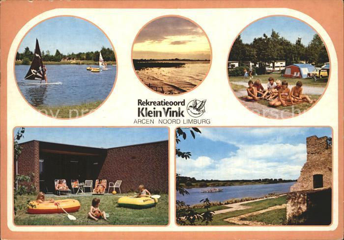 Arcen Rekreatieoord Klein Vink Segelboot  Kat. Venlo