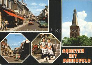 Barneveld Gelderland Kinder Tracht Kirchturm  Kat. Barneveld
