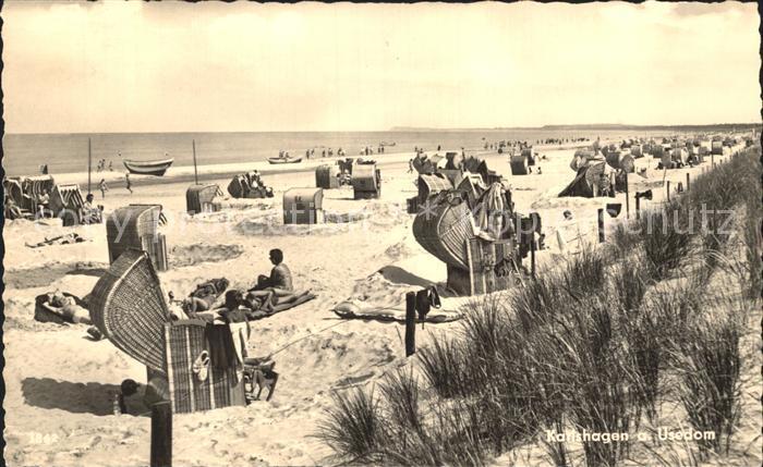 Karlshagen Strandpartie Kat. Karlshagen Usedom