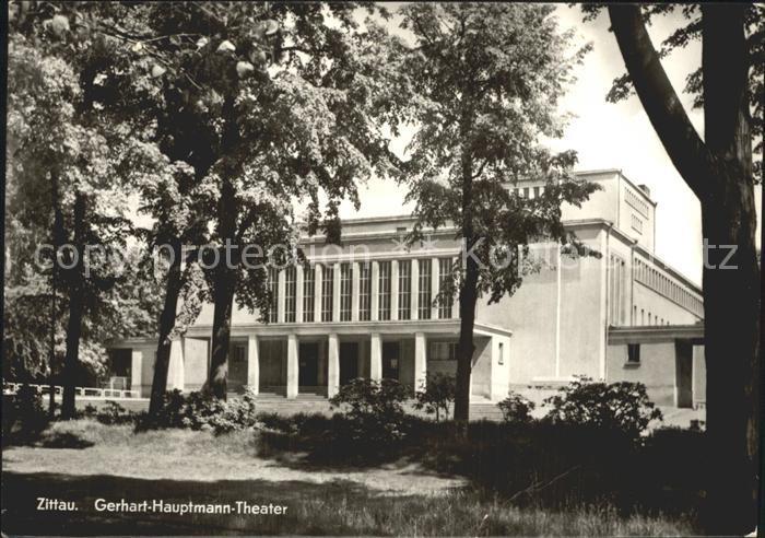 Zittau Gerhart Hauptmann Theater Kat. Zittau