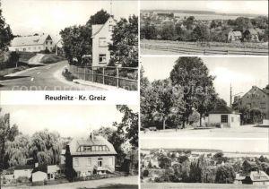 Reudnitz Mohlsdorf Dorfpartie Panorama Teilansichten Kat. Mohlsdorf