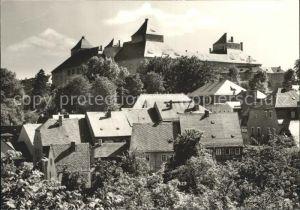 Augustusburg mit Schlossblick Kat. Augustusburg