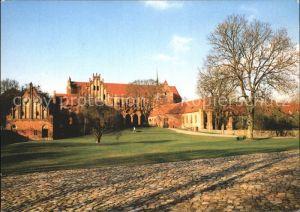 Chorin Kloster Blick auf die Klausur Kat. Chorin