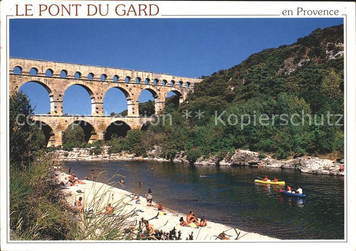 Vers Pont du Gard Le Pont du Gard Kat. Vers Pont du Gard