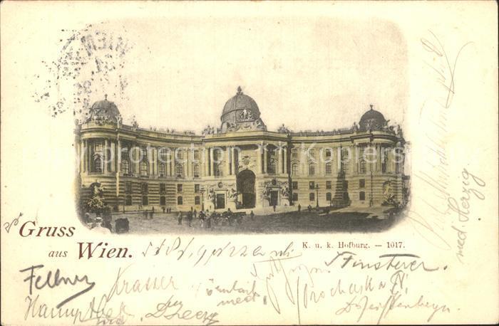 Wien Hofburg Kat. Wien