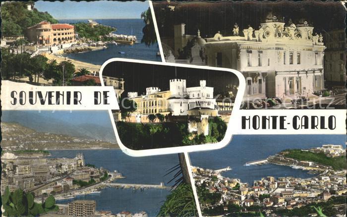 Monte Carlo Principaute de Monaco Kat. Monte Carlo