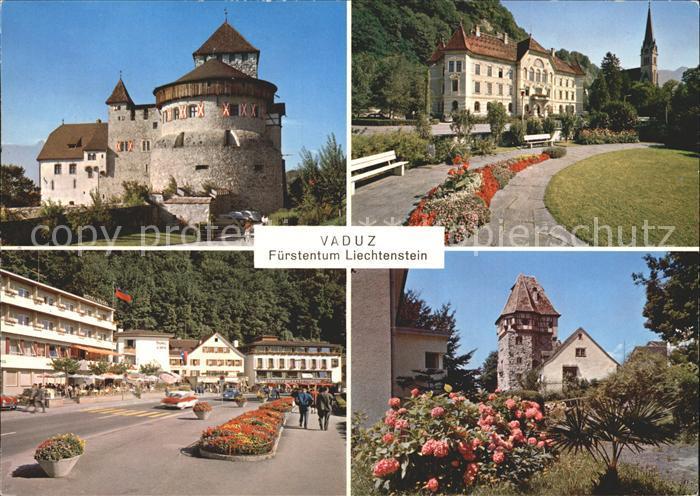 Vaduz Fuerstentum Schloss Vaduz Kat. Vaduz