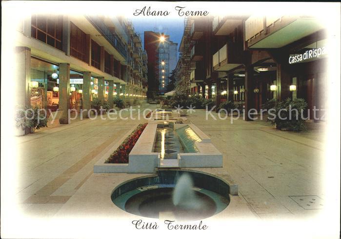 Abano Terme Stazione Internazionale Cura Soggiorno Kat. Abano Terme ...