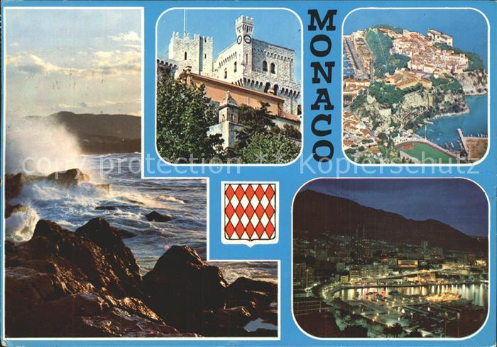 Monte Carlo Panorama Gesamtansicht Fliegeraufnahme Kat. Monte Carlo