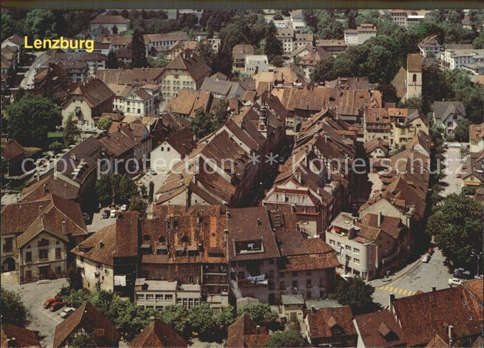 Lenzburg Vom Schloss aus gesehen Kat. Lenzburg