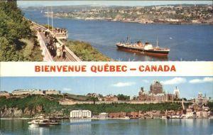 Quebec Promenade des Gouverneurs Citadelle Kat. Quebec