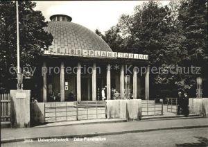 Jena Zeiss Planetarium Universitaetsstadt Kat. Jena