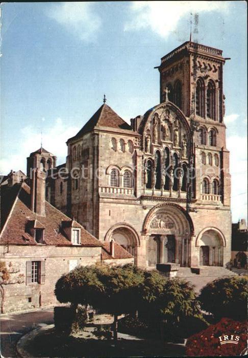 Vezelay Basilique de la Madeleine Kat. Vezelay