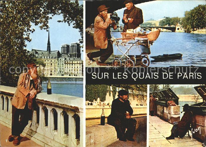 Paris Sur les Quais de Paris Kat. Paris