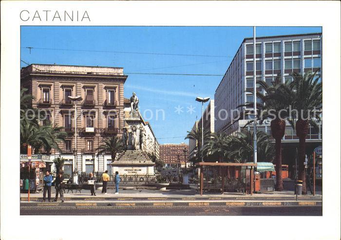 Catania Piazza Stesicora e Corso Sicilia Kat. Catania
