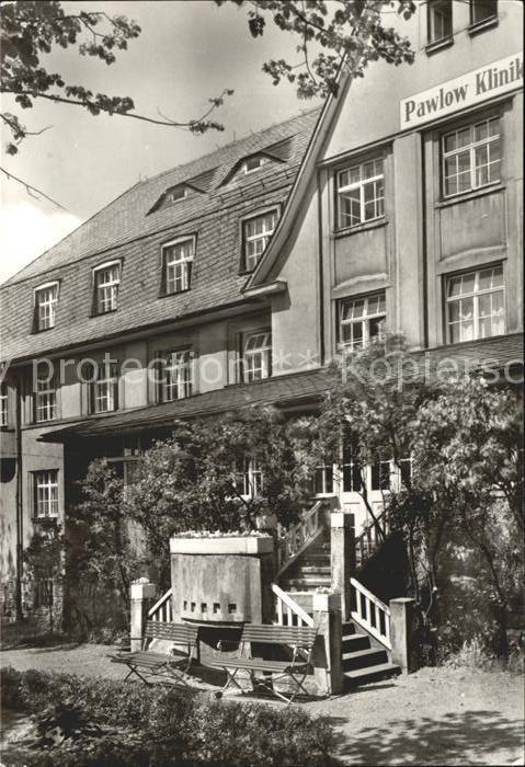 Augustusburg Pawlow Klinik Kat. Augustusburg