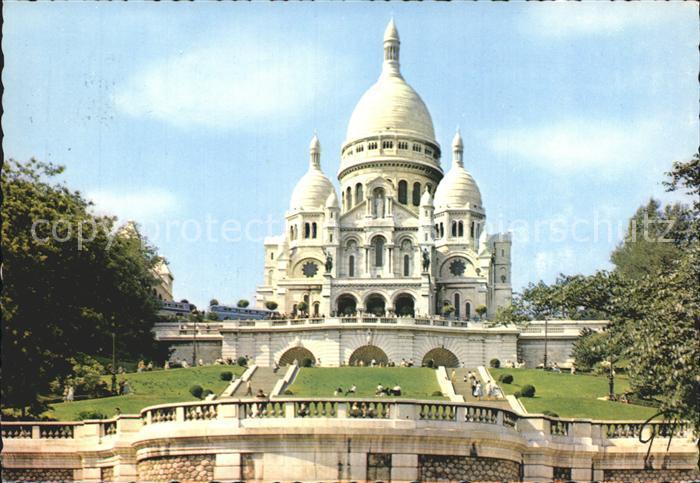 Paris Basilique du Sacre Coeur de Montmartre Kat. Paris