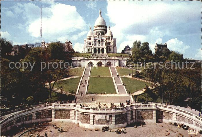 Paris Basilica du Sacre Coeur de Montmartre Kat. Paris