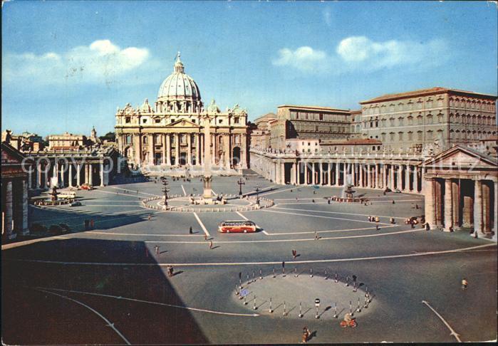 Vatican Citta del Vaticano Piazza San Pietro Kat. Vatican