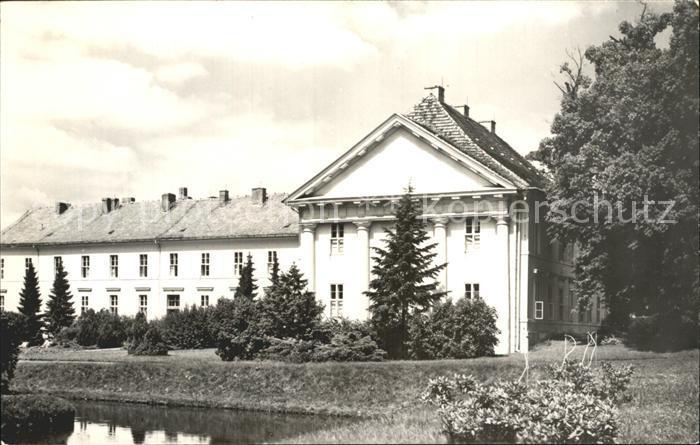 Rheinsberg Schloss Rheinsberg Sanatorium Helmut Lehmann Kat. Rheinsberg