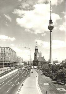 Berlin Fernseh und UKW Turm Marienkirche Kat. Berlin