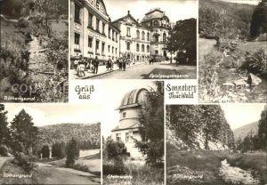 Sonneberg Thueringen Roethengrund Spielzeugmuseum Sternwarte Kat. Sonneberg