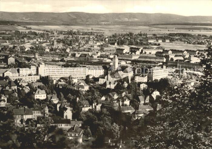 Sonneberg Thueringen Panorama Kat. Sonneberg