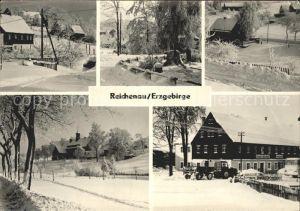 Reichenau Hartmannsdorf Reichenau Orts und Teilansichten Kat. Hartmannsdorf Reichenau
