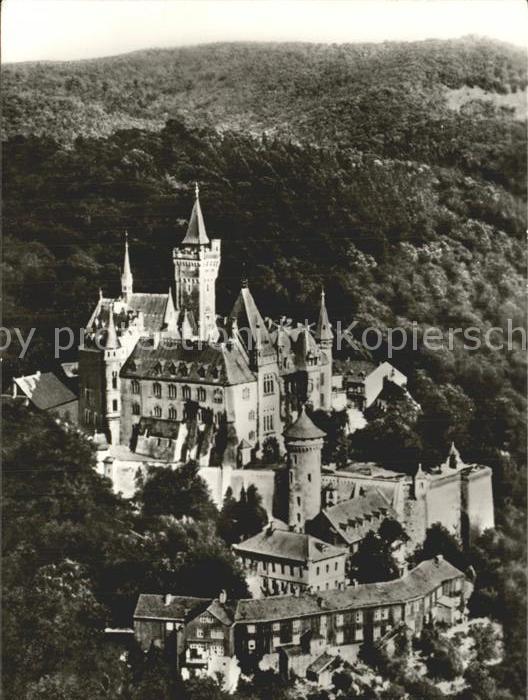 Wernigerode Harz Schloss Wernigerode Feudalmuseum  Kat. Wernigerode