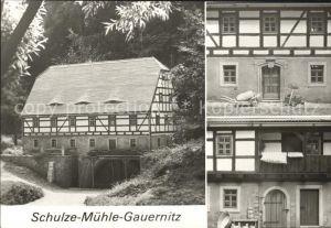 Gauernitz Schulze M?hle Gauernitz Getreidem?hle Kat. Klipphausen