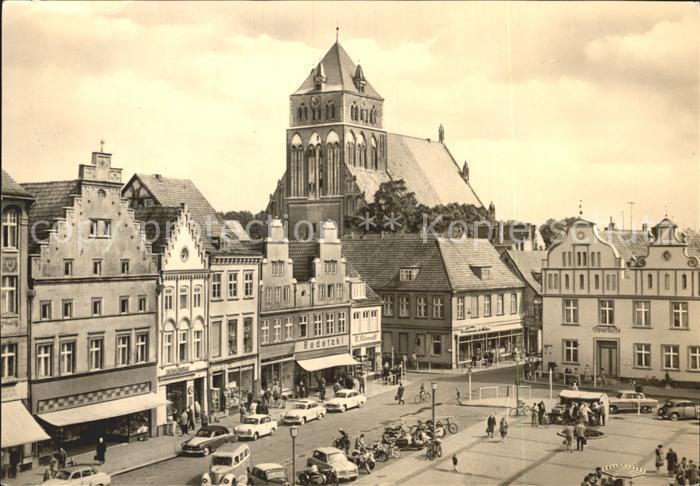 ks34092 Greifswald Mecklenburg Vorpommern Markt Kat. Greifswald
