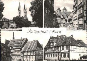 Halberstadt Domplatz Taubenstrasse Kulk Gleimhaus Kat. Halberstadt