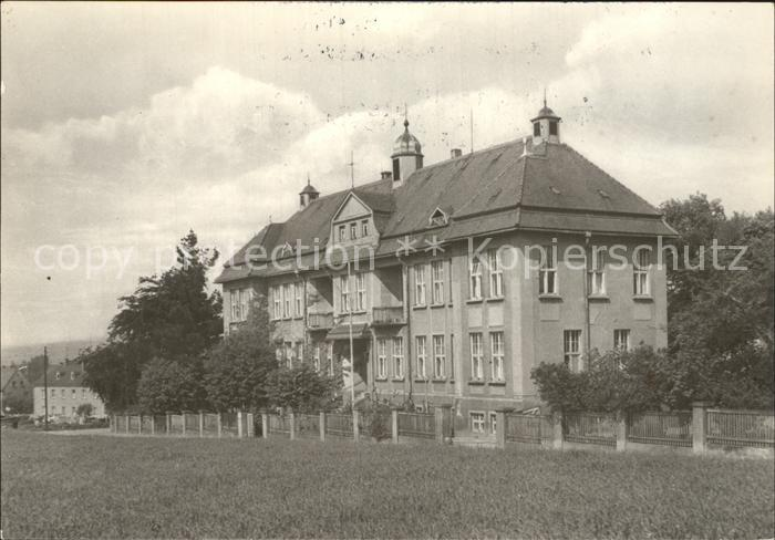 Pulsnitz Sachsen Krankenhaus  Kat. Pulsnitz
