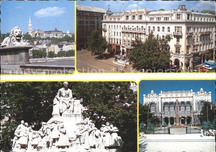 Budapest Denkmal Gebaeude  Kat. Budapest