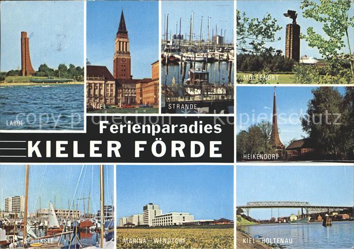 Laboe Strande Kiel Heikendorf Holtenau  Kat. Laboe