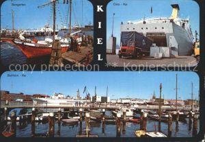 Kiel Oslo Kai Seegarten Bollhoern Kai  Kat. Kiel
