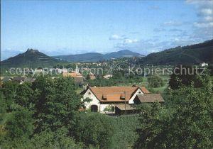 Staufen Breisgau Panorama Blick ueber Grunern Burgruine Schwarzwald Kat. Staufen im Breisgau