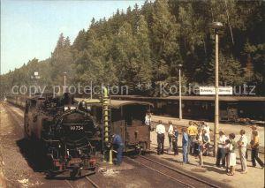 Kipsdorf Bahnhof Kipsdorf Schmalspurbahn Kat. Altenberg