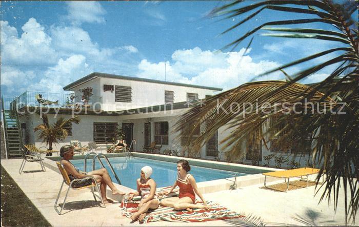 Ak Riviera Beach Fl Tahoe Motel Apartments On The Ocean Ocean Ave Nr 6471290 Oldthing