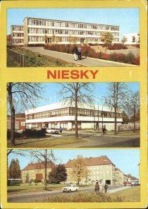 Niesky Herbert Balzer Oberschule Betriebsgaststaette MLK HO Gaststaette Zinzendorfplatz Kat. Niesky
