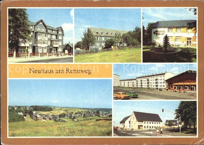 Neuhaus Rennweg Erholungsheim Ernst Thaelmann Jugendherberge Karl Marx Kat. Neuhaus Rennweg