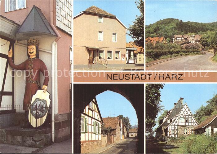 Neustadt Harz Roland Gaststaette Ratskeller Haus Lebenswende Kat. Neustadt Harz
