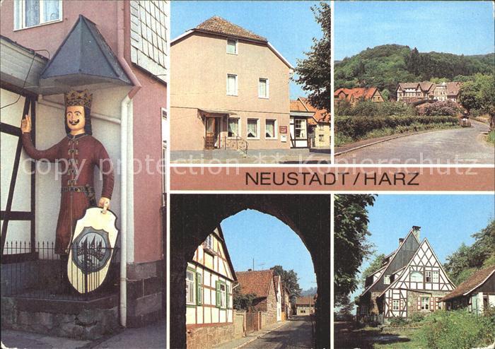 Neustadt Harz Roland FDGB Gaststaette Ratskeller Kurhaus Haus Lebenswende Kat. Neustadt Harz