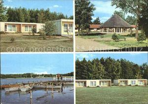 Milmersdorf Uckermark Erholungsheim des VEB Leuna-Werke Walter Ulbricht / Milmersdorf /Uckermark LKR