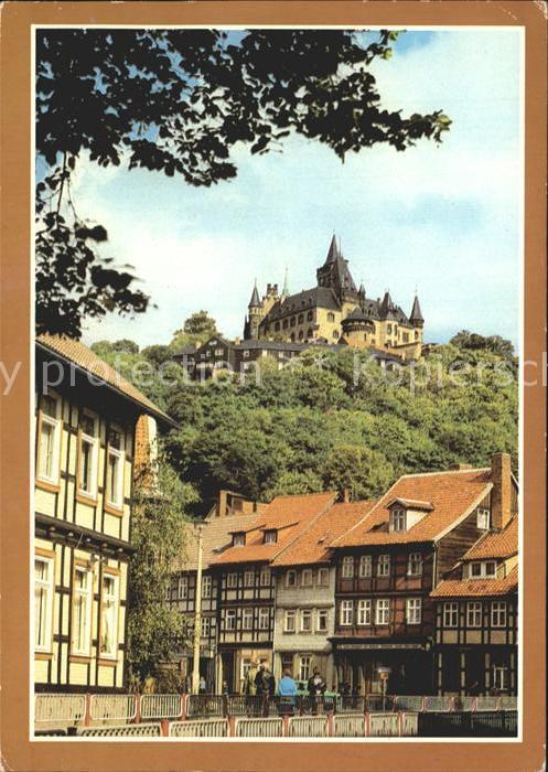 Wernigerode Harz Feudalmuseum Schloss Wernigerode Kat. Wernigerode